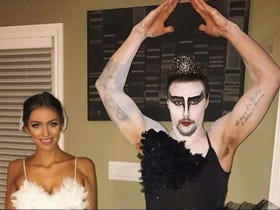 Nobody Loves To Cross-Dress For Halloween More Than Senators Defenseman Erik Karlsson