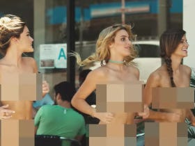 Blink-182 Recreated The What's My Age Again Video But With Naked Chicks