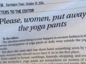 This Old Dude HATES Yoga Pants So Much He Had To Write A Letter To The Editor About It