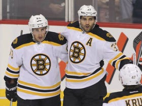 Bruins Win Home Opener 2-1 Over Devils On Late Bergeron Goal