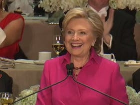 Hillary Clinton Roasted The Fuck Out Of Donald Trump At The Al Smith Dinner