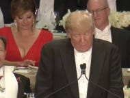 Fox Business's Maria Bartiromo's Aggressive Cleavage Drove The Internet NUTS During The Al Smith Dinner