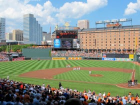 Camden Yards Ranked #1 In MLB Ballpark Experience For The Third Year In A Row
