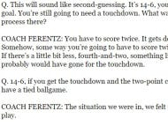 Apparently Kirk Ferentz Doesn't Know That Two-Point Conversions Exist
