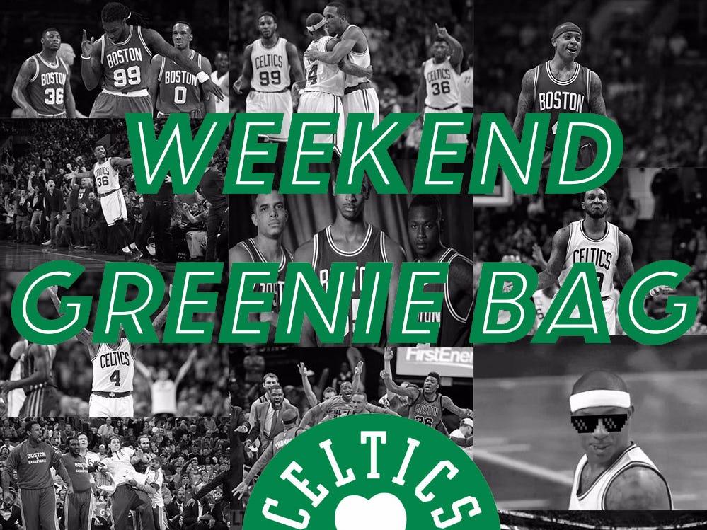 The Weekend Greenie Bag – Chances Jaylen Brown Wins ROY?