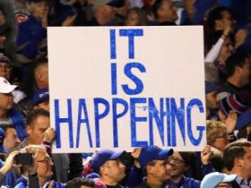 FOR THE FIRST TIME SINCE 1945 THE CUBS ARE IN THE WORLD SERIES!!!
