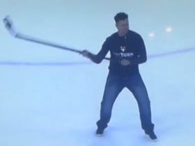 Mike Legg, The Guy Who Scored THE Michigan Goal, Doing It Again From The Opposite End Of The Ice Is Just Silly