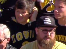 Big Time Hat On This Guy In Iowa City #BeerTittiesMetal
