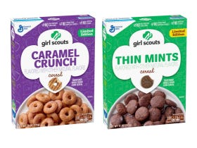 Girl Scout Cookie Cereals Are Coming Out In January And I Am Beyond Excited