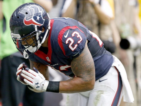Arian Foster Announces His Retirement From The NFL Out Of The Blue