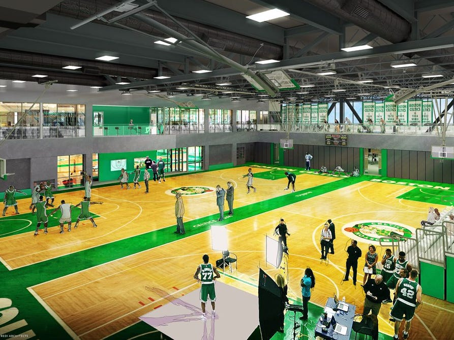 The Celtics Have Broken Ground On A New Practice Facility In Brighton
