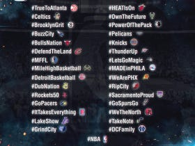 The NBA Released Its Twitter Team Hashtags And There Are Some Doozies