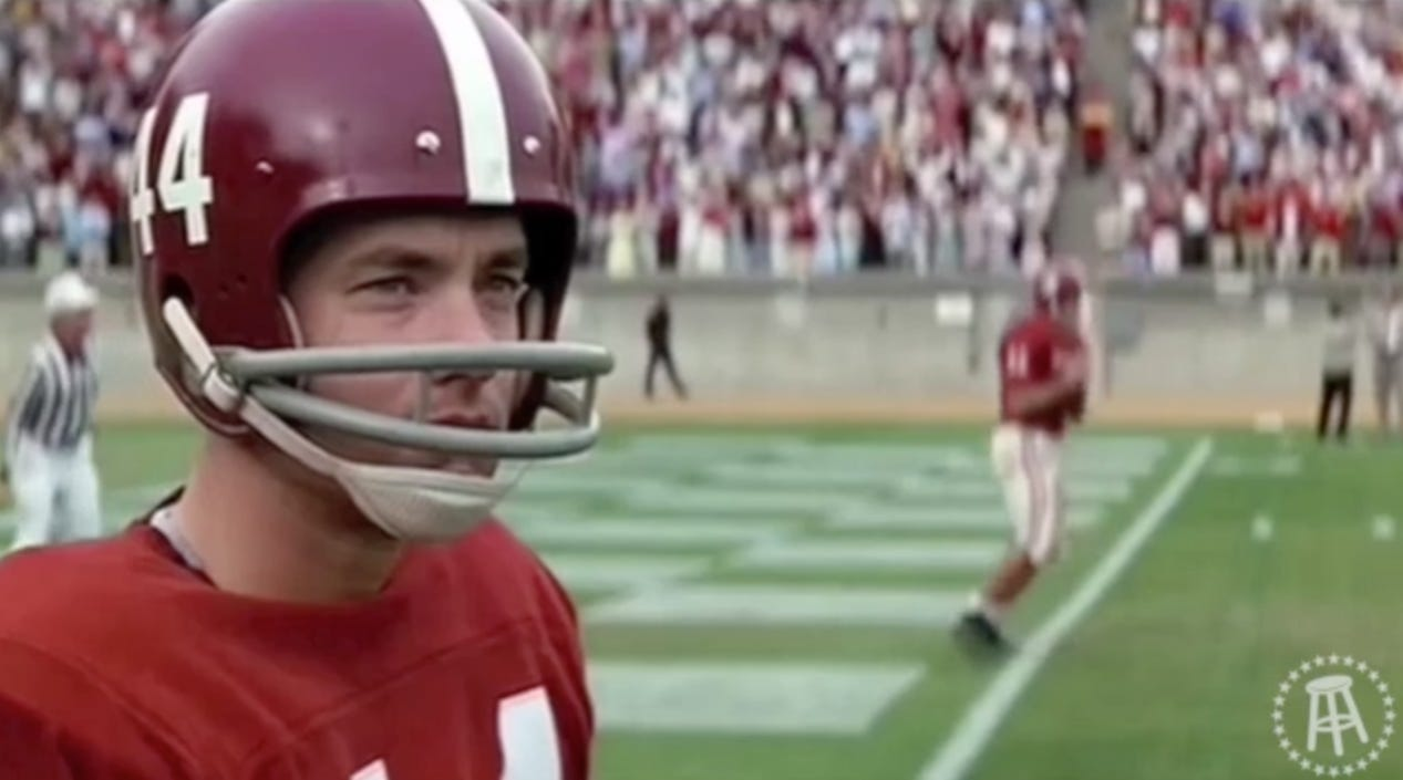 Highlights Without Rights – Forrest Gump At Alabama