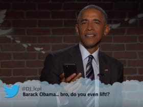Barack Obama Again Reads Mean Tweets And They Are No Where Near As Malicious As They Could Be