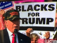 Blacks For Trump Make Their Presence Known At Trump Rally