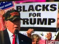 Blacks For Trump Make Their Presence Known At Trump Rally