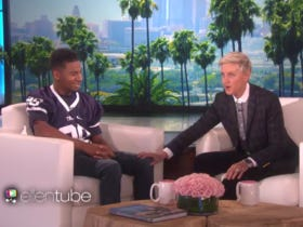 Blind And Deaf High School Football Player From Pottstown Crushes Ellen Interview And Life