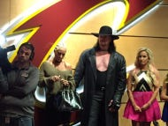The Undertaker Is At The Cavs Game, Making The Ring Ceremony A Must-Watch
