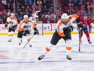 Wayne Simmonds Didn't Seem Too Interested In Making Any Friends In Montreal Last Night
