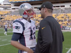 Awesome Video Of Tom Brady Making A Fan's Day In Pittsburgh (That Fan's Name Is Ben Roethlisberger)
