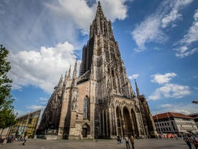 The Base Of The Tallest Church In The World Is Eroding Cause Drunks Keep Pissing On It
