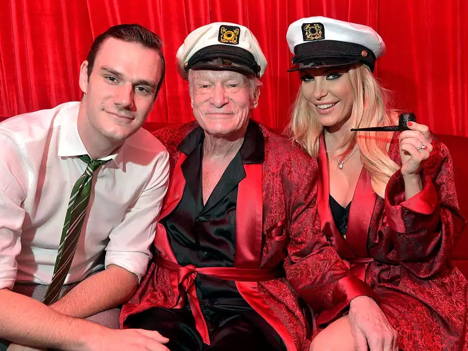 Hugh Hefner's Son Is Already Thinking About Bringing Nudes Back To Playboy After Everyone Who Made The Change Got Fired
