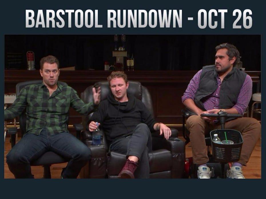 Barstool Rundown – October 26, 2016