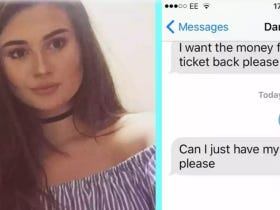 This Girl Had To Pay A Cheating Ex Back For Justin Bieber Tickets So Naturally She Did It In The Assholiest Way Possible