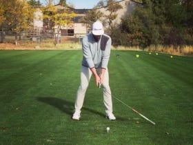 Dude Pulls Off Pretty Ridiculous Golf Trick Shot Twice In A Row