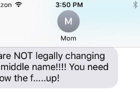 Yeah, So, Both Of My Parents Aren't Thrilled With Me Betting My Middle Name (Which Is After My Father) On A Video Game