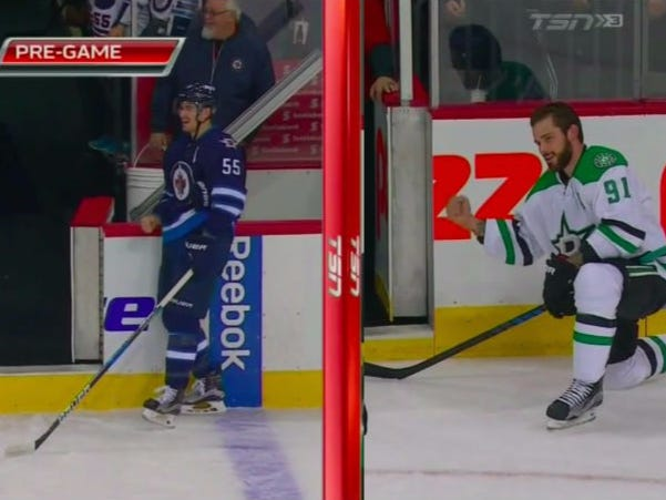 Tyler Seguin And Mark Scheifele Get Into Pre-Game Fight, Prove Why Hockey Is The Best