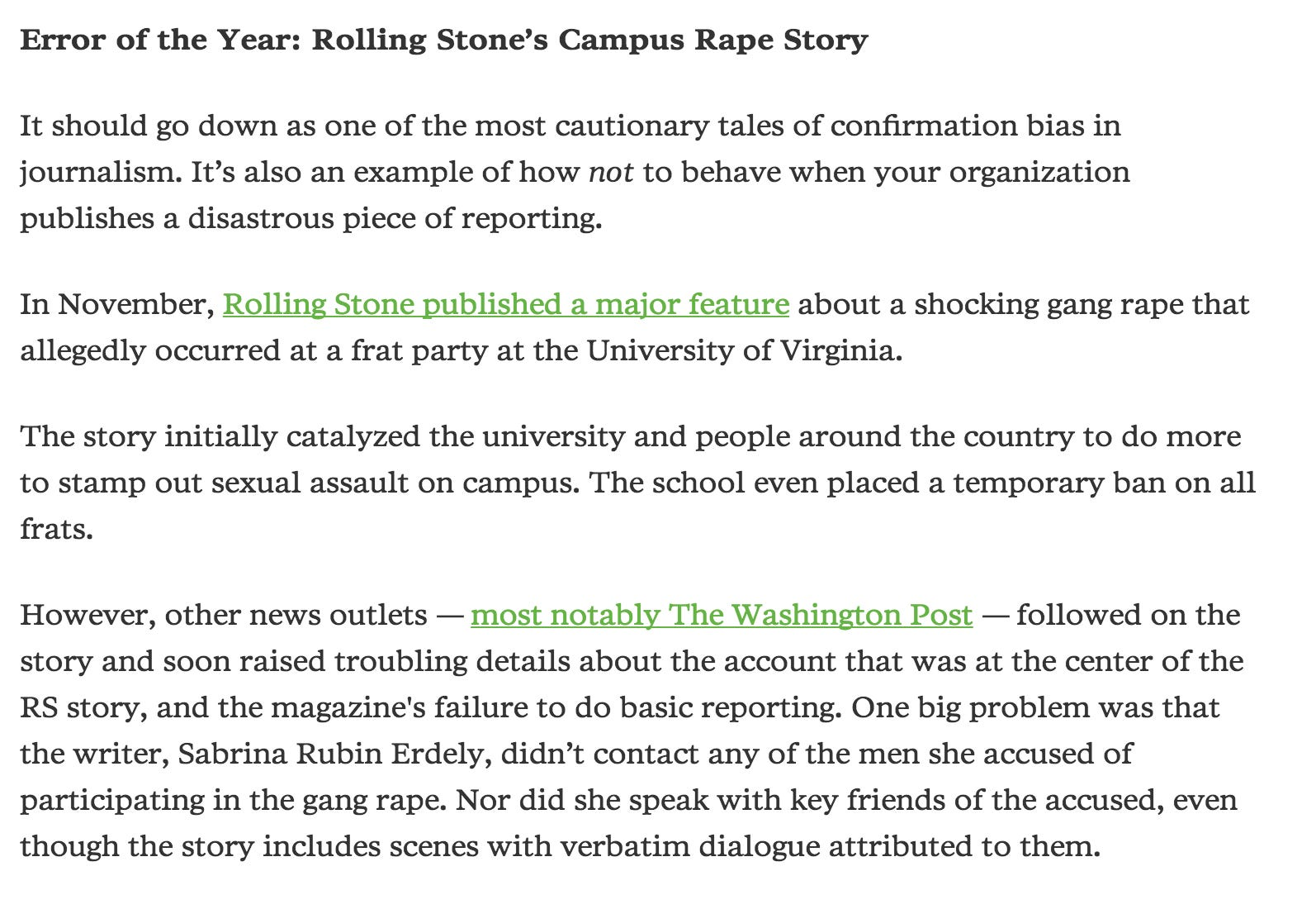 Sabrina Erdley Stands By Her Rolling Stone Rape On Campus Story