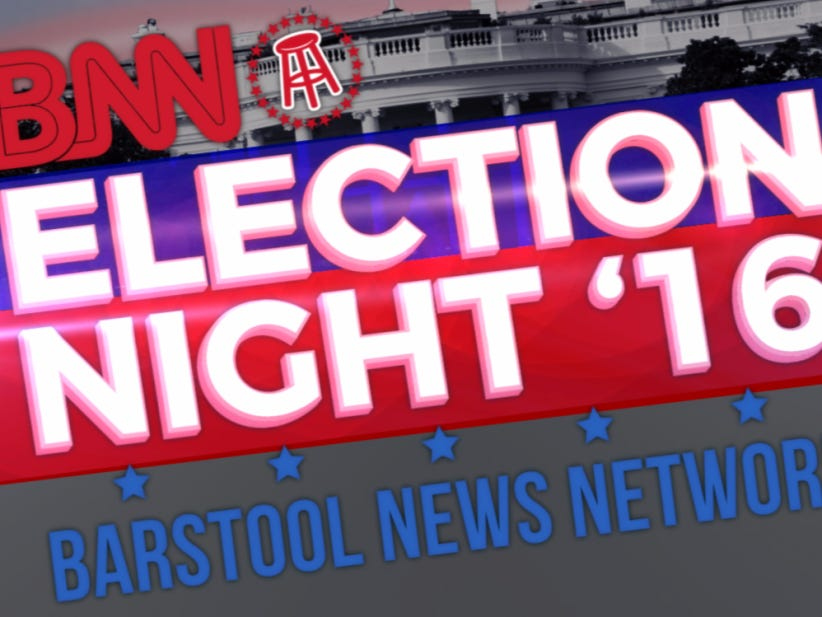 Barstool Sports LIVE Election Coverage - Barstool Sports