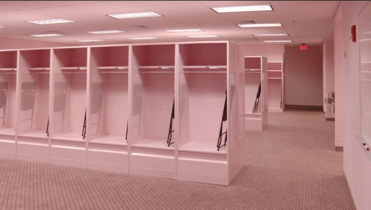Away Team Locker Rooms