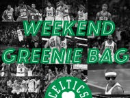 The Weekend Greenie Bag – Should We Worry About Isaiah's Usage?