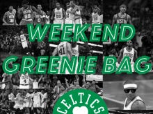 The Weekend Greenie Bag - Should We Worry About Isaiah's Usage?