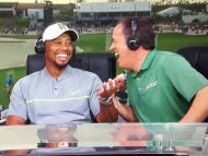I Can't Get Enough Of Dan Hicks Over-Laughing At Tiger's Joke