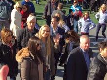 Tiger's Back, So Of Course Lindsey Vonn Pops Up At Gillette