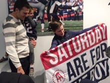 Tom Brady Knows Saturdays Are For The Boys Annnnnnd I Quit Life. I'm Done Forever. We've Reached The Peak.