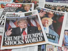 The First Thing Trump Does Every Morning Is Get All The Newspaper Clips Written About Him