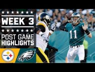 Wake Up With The Eagles Week 3 Evisceration Of The Steelers
