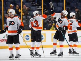 The Flyers Go Back-To-Back This Weekend, Win 5 In A Row