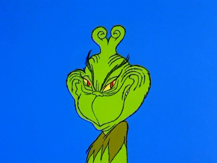 "The Greatest Diss Song Of All Time: ""You're A Mean One Mr. Grinch"""