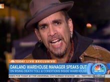 Oakland Warehouse Organizer, Where 36 Died In A Fire Friday, Gives WILD Interview