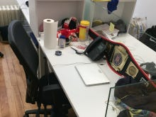 Feitelberg's Desk Stresses Me The Fuck Out