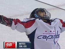 Caps Mite On Ice With A Heroic Goal Celebration For The Ages