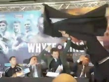Hurling A Table At Your Opponent Is A GREAT Pre-Fight Press Conference Tactic