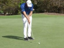 Is Bryson DeChambeau Serious With This New Putting Stroke?