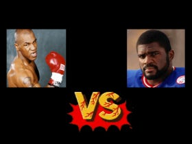 Who Would Win In A Fight – Mike Tyson Or Lawrence Taylor?