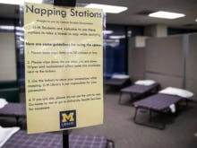 College Napping Stations Seem Kinda Gross And Uncomfortable